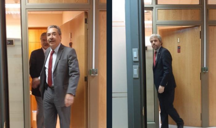 """Harakiri tras el fracaso de la acusación a Piñera: en el PPD apuntan a las """"reuniones privadas"""" de radicales con ministro Blumel"""