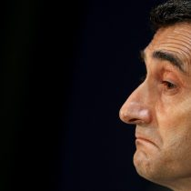Ernesto Valverde, destituido como técnico del FC Barcelona