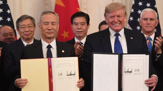 Acuerdo EE.UU.-China: quién es el ganador de la guerra comercial entre las dos mayores economías del mundo