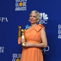 Michelle Williams en los Globos de Oro: Mujeres, voten