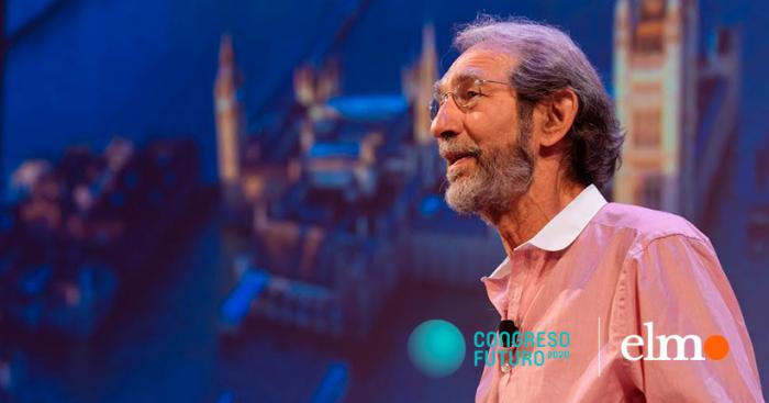 """Geoffrey West, el físico teórico que propone aumentar la """"diversidad"""" para reducir la """"desigualdad"""" social en urbes como Santiago"""