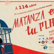 Festival de teatro conmemora la masacre obrera de la Plaza Colón en 1906 en Antofagasta