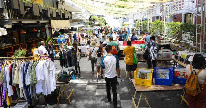 Feria Viva la Vintage en Providencia