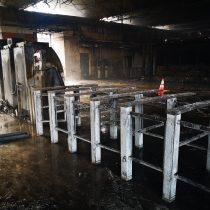 Bomberos concluye que incendio en Metro San Pablo comenzó en bodega de la estación