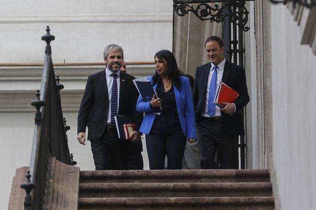 Blumel responde a las quejas de Chile Vamos contra el comité político: