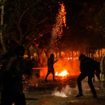 Pese a disturbios y 9 detenidos, autoridades hacen positivo balance de noche de Año Nuevo en Valparaíso