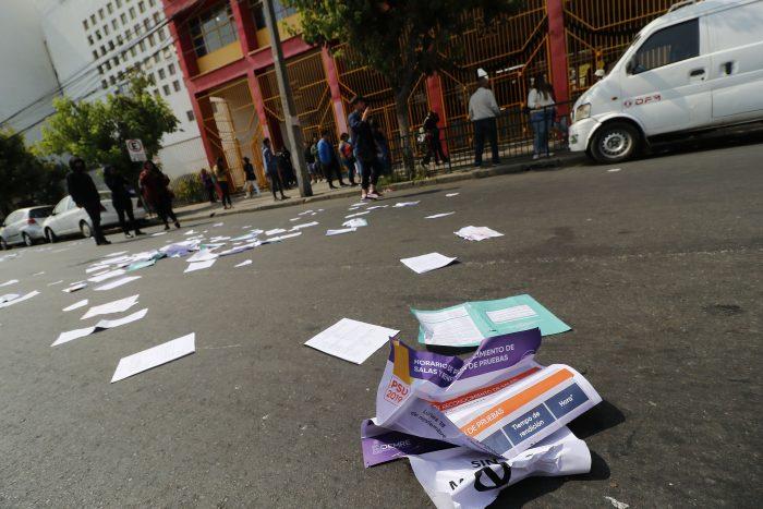 Demre excluirá de la PSU y del proceso de admisión a los alumnos que hayan participado en el boicot a la prueba