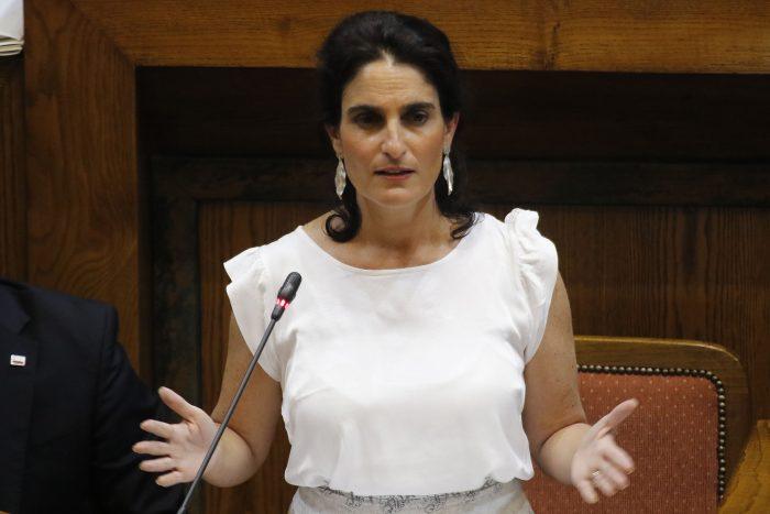 La promesa de la ministra Zaldívar en su interpelación: