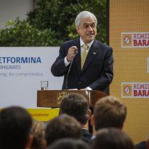 Piñera insiste a la oposición: