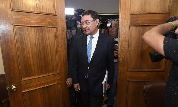Comisión revisora declara admisible acusación constitucional contra intendente Guevara