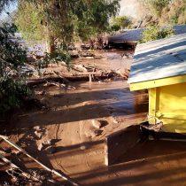 Nuevo balance de la Onemi: un fallecido y cientos de personas aisladas por lluvias en el norte del país