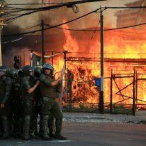 Gobierno y Carabineros lamentan nueva jornada de violencia y la comparan con