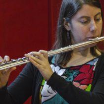 """Flautista Beatrice Ovalle: """"La música es interacción y esa es la manera más importante para aprender y progresar"""""""