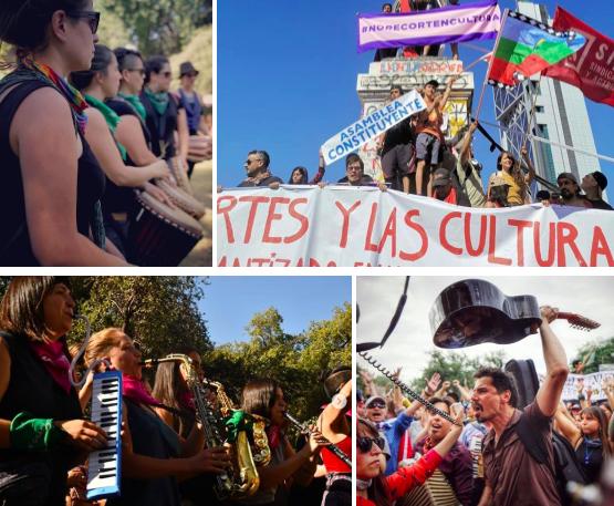 Artistas convocan a marcha contra la represión
