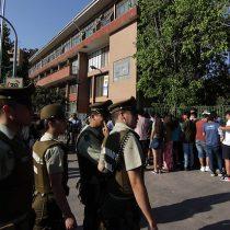Falta jornada de la tarde: a pesar de varios focos de escaramuzas, autoridades logran asegurar rendición de primera etapa de la PSU