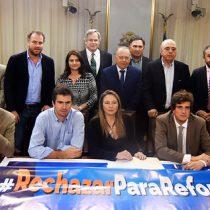 """""""Gallito"""" en RN: mayoría de la bancada de diputados se cuadra con el rechazo a la Nueva Constitución"""
