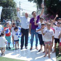 Inaugura Plazas del Agua y refuerza el llamado a disminuir la apertura ilegal de grifos