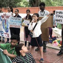 """""""Dejen de llamarme la 'Greta de India'"""": El descargo de una activista ambiental de ocho años"""