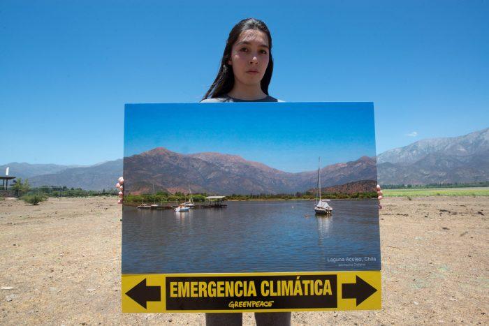 """Greenpeace ante la amenaza de racionamiento en Santiago: """"Quizás el mundo político reaccione cuando comiencen los cortes de agua en el mismo Congreso"""""""