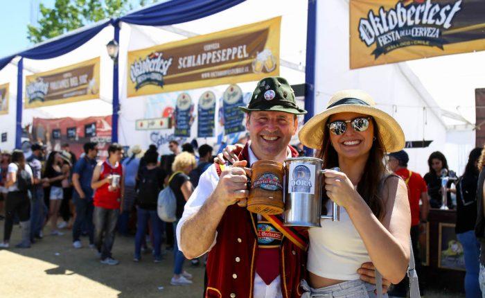 Comienza Oktoberfest Chile 2020, el mayor evento cervecero del país