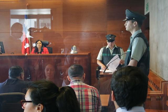 Jueza Acevedo está con resguardo policial tras recibir amenazas de muerte en redes sociales