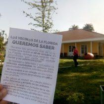 Estallido social en La Florida: las denuncias de vecinos contra el municipio que el alcalde Carter rechaza de plano