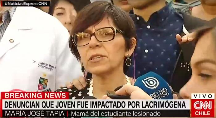 Mamá de Diego Lastra al Presidente Piñera: