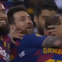 Con Vidal jugando los 90 minutos: Barcelona cayó 3 a 2 ante Atlético de Madrid por la semifinal de la Supercopa de España