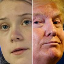 El cruce de declaraciones entre Donald Trump y Greta Thunberg en Davos