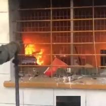 Joven acusado de incendiar sede de la UDI en Concepción queda en prisión preventiva