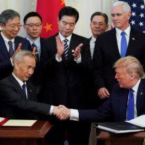 Trump: el acuerdo comercial con China es