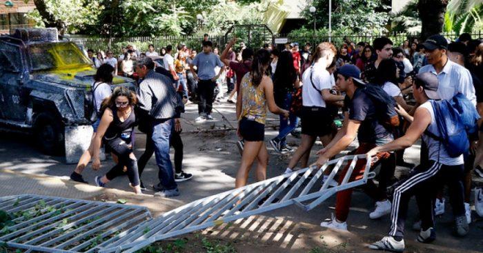 Demre desmiente versión de la Universidad San Sebastián sobre desalojo del campus Los Leones durante la rendición de la PSU