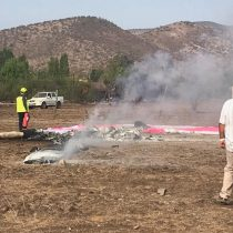 Dos personas mueren tras accidente de avioneta en Colina