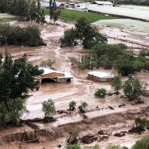 Un muerto y cinco personas desaparecidas dejan aluviones en la región de Atacama