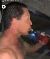 Postulante al congreso peruano fue grabado bebiendo alcohol mientras conducía