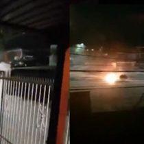 Se registran nuevos enfrentamientos y ataques a comisarías en Pudahuel
