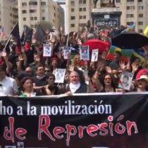 A tres meses del estallido: realizan marcha