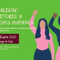 """Encuentro """"Sexualidad, Territorio y Derechos Humanos"""" instruirá a chilenas/os sobre sus derechos sexuales y reproductivos"""