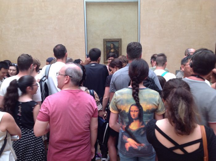 ¿Se puede disfrutar del arte en un museo masificado?