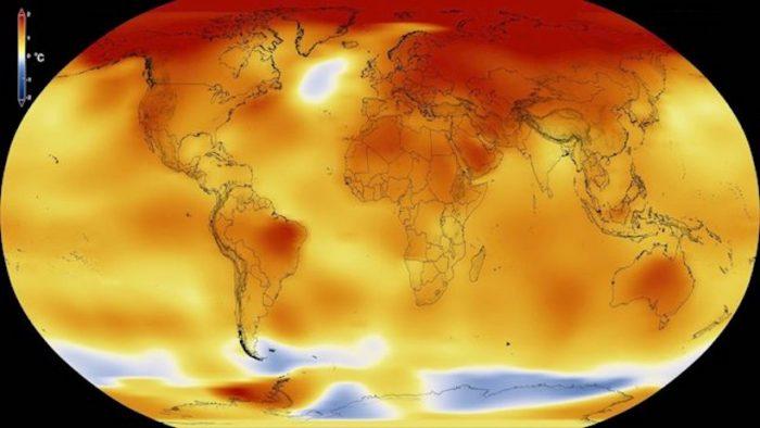 Estudio del NOAA revela que última década es la más caliente jamás registrada