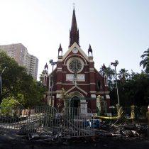 Carabineros informa que detuvo a sospechoso de provocar incendio en iglesia San Francisco de Borja