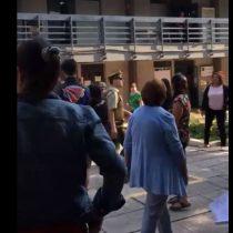 Sigue el boicot: estudiantes se quedan sin rendir la PSU en liceo comercial del barrio Yungay