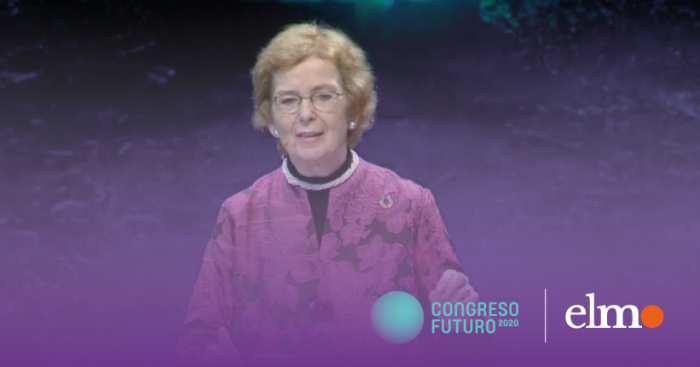 """Mary Robinson, primera presidenta en Irlanda, le habló a Chile en Congreso Futuro: """"Hoy ustedes tienen la oportunidad de tener equidad de género"""""""