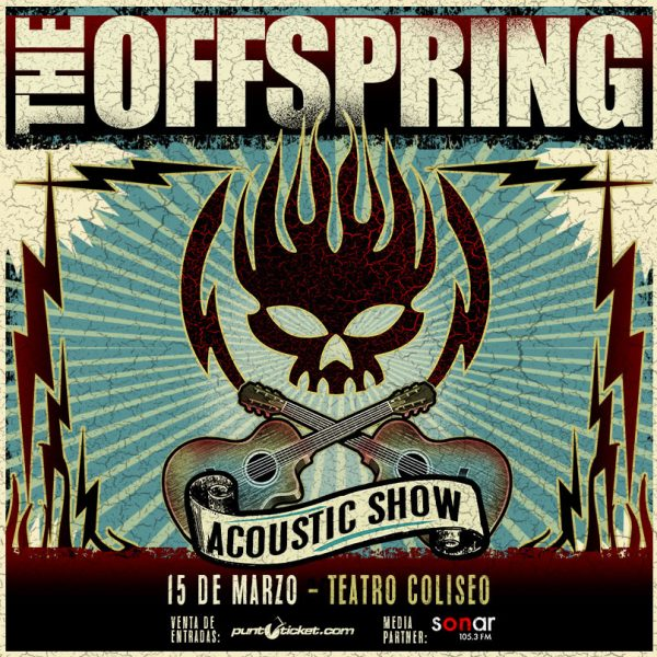 The Offspring en Teatro Coliseo