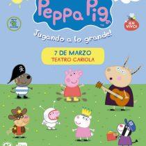 Peppa Pig en Teatro Cariola
