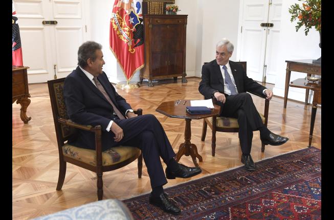 Parte la era Silva en la Suprema: nuevo presidente del máximo tribunal asumió el cargo y se reunió con Piñera
