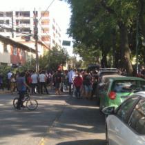 Segundo día de la PSU: debido a incidentes, suspenden prueba en Liceo Lenka Franulic de Ñuñoa