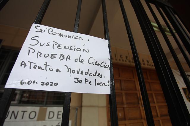 """La amenaza de la ACES contra la PSU: """"Vamos a seguir movilizándonos este martes"""""""