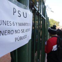 """Unicefcondenó los hechos de violencia y dijo que """"la suspensión de la PSU vulnera el derecho a la educación"""""""