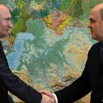 Rusia: Mijail Mishustin será nuevo primer ministro